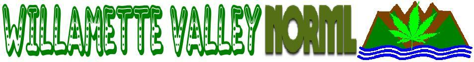 Welcome to the Willamette Valley NORML Media page.  Click here to go Home